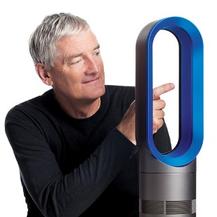 Latest invention dyson hot new gen heater that doubles for Famous british designers