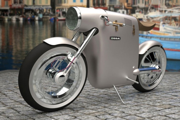 Electric Concept Bike Pays Tribute To Famous Spanish 1970s Racing