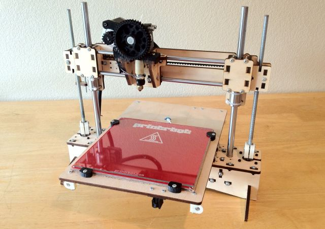 Latest invention printrbot budget friendly 3d printer for Who invented the 3d printer