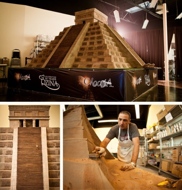 Giant Chocolate Mayan Temple Breaks World Record for the ...