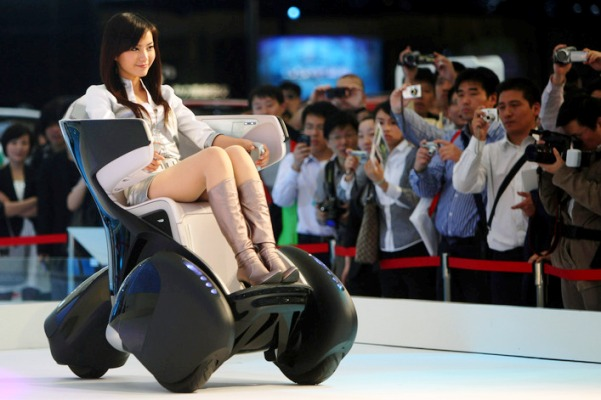 Toyota i-Real - High-tech Electric Sofa on Wheels ...