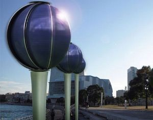 Spherical Generator Produces Solar And Wind Power
