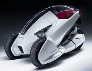 3r C Honda S Zero Emission Commuter Vehicle Technology