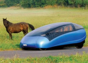 Three Seater Hybrid Car That Splits Into Smaller Cars