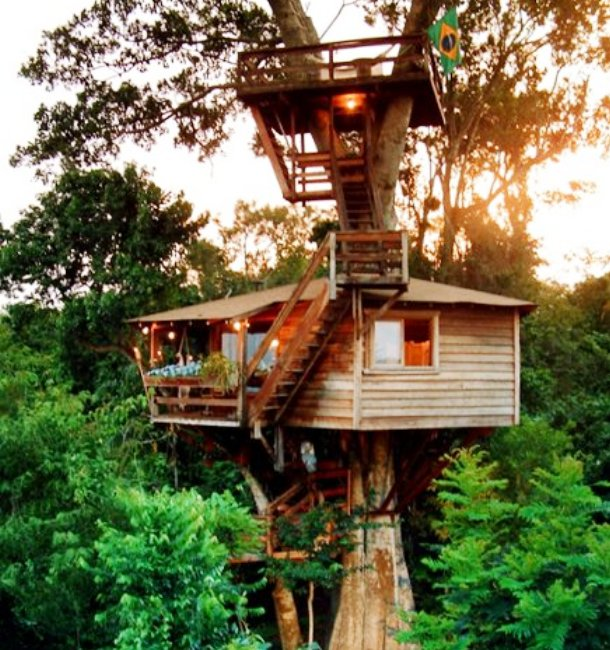 Top 10 Most Creative Treehouses Environment Infoniac
