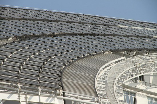 Solar Powered Office Buildings : China builds largest solar powered office structure in the