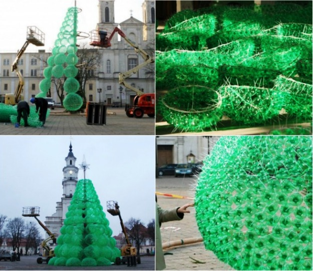 Christmas Tree Decorations Recycled: Top 10 Craziest Christmas Trees Of 2011