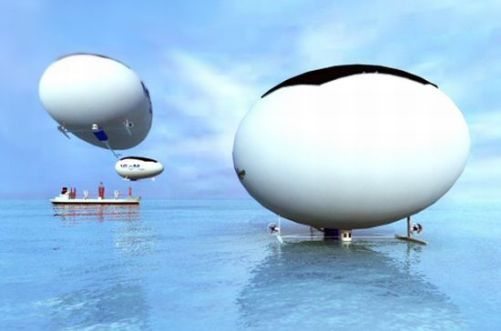 High Speed Solar Airship - Eco-Friendly Concept Designed to