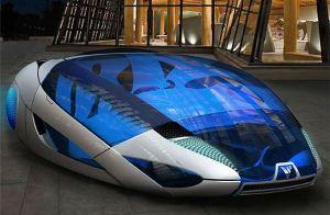 The HXO Concept Car Uses Solar Energy to Obtain Hydrogen ...