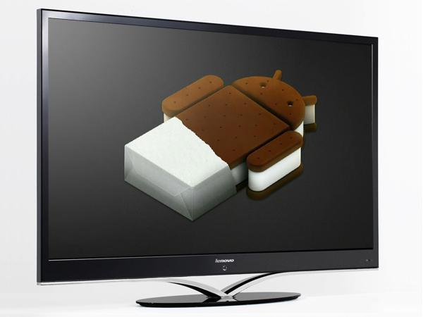Latest Invention: Lenovo Presents Ice Cream Sandwich TV at ...