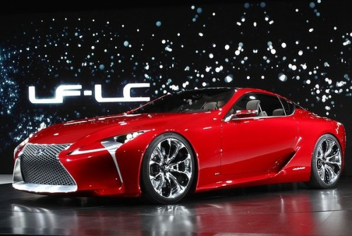 Lexus Shows Lf Lc Hybrid Sports Coupe Concept Vehicle At