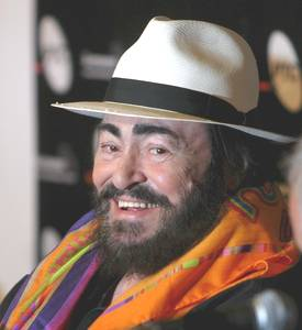 The Smile of Luciano Pavarotti