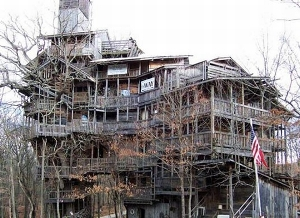 Tallest Treehouse In The World Erected In Tennessee