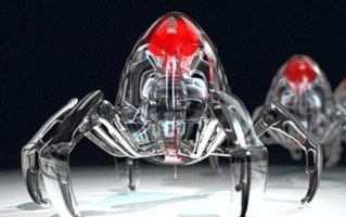 nano robotic spiders Robotic Nano Spiders Made of DNA Molecules