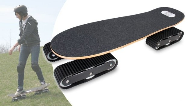 Latest invention descender off road skateboard from rockboard technology - Invention du skateboard ...