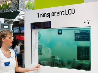 Latest Invention Solar Powered See Through Lcd Tv From
