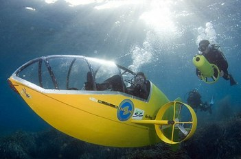 Latest Invention: Pedal-Powered Yellow Submarine - Technology ...