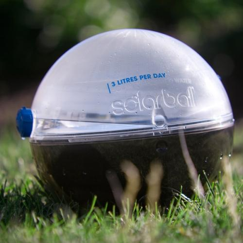 Latest Invention Solarball Portable Solar Water