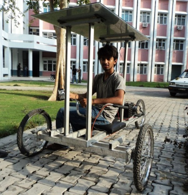 Latest Invention: Solar-powered Electric Tricycle from ...