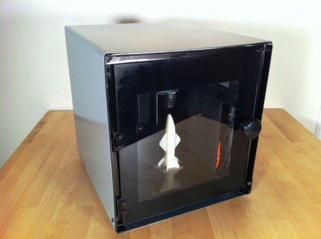 Latest invention solidoodle 2 budget friendly home 3d for Who invented the 3d printer