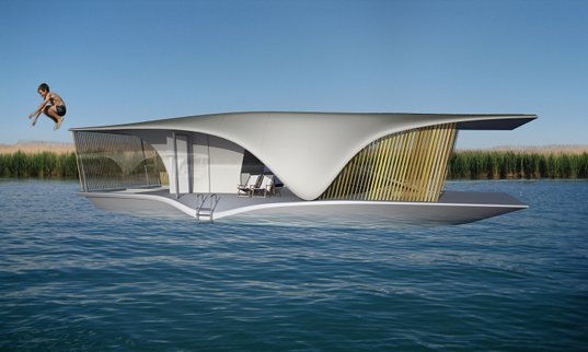 The Last Resort Eco Friendly Floating House