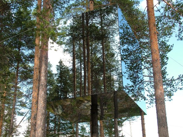 invisible tree house hotel. Invisible Treehouse Tree House Hotel